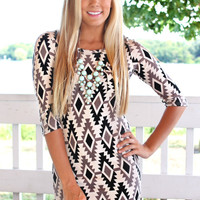 Tribal Night Sky Dress