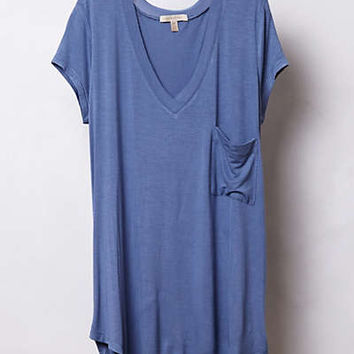 Anthropologie - Trapeze Baseball Tee