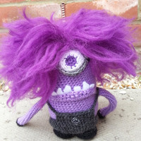 Despicable Me 2 Evil Minion Amigurumi Crochet Pattern