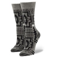 Stance | Santiago Black, Grey socks | Buy at the Official website Main Website.