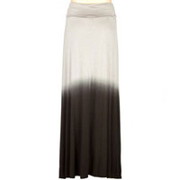 FULL TILT Dip Dye Girls Maxi Skirt