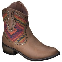 Women's Mossimo Supply Co. Kaley Studded Boots - Cognac