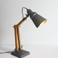 TELEGRAM LAMP - MEDIUM (44CM) - GUN METAL
