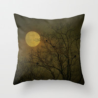 Dark Side Throw Pillow by RDelean