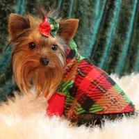 Christmas Holiday Dog Clothes Snuggly - 3 Prints U PIC - XXXS to SM | valygalsdoggieduds - Pets on ArtFire