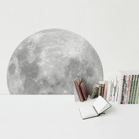 A Trip To The Moon /sticker (full moon wall-sticker-100cm/39inch)