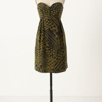 Silken Stitches Dress - Anthropologie.com