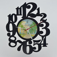 Vinyl Record Album Wall Clock (artist is Seals & Crofts)