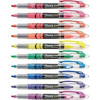 Sharpie? Liquid Accent® Highlighter, Assorted, 10/Pack
