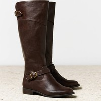 AEO Buckle Strap Riding Boot | American Eagle Outfitters