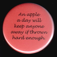 Change On The Saying Button by kohaku16 on Etsy