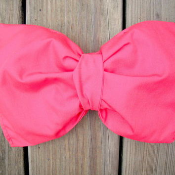 Bright Red Bow Bandeau