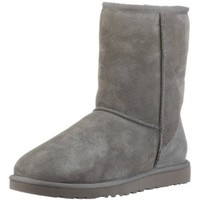"Women's Ugg Australia ""Classic Short"" Boots - Grey:Amazon:Shoes"