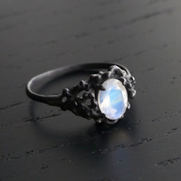 Sea Nymph Ring II - Moonstone