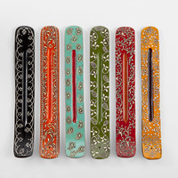 Painted Incense Holders