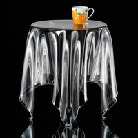 Illusion Side Table - Clear | Essey | HORNE