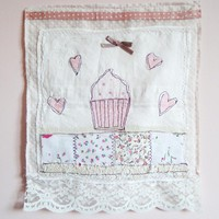 Cupcake Love Wall Hanging