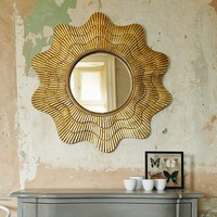 Hand Crafted Shell Mirror