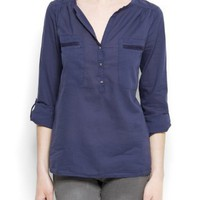 Mango Women's Pockets Shirt