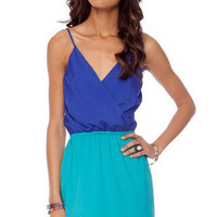 Two Cute Dress in Royal Blue Jade :: tobi