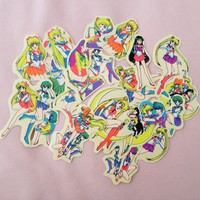 3 Sailor Moon stickers