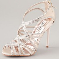 Badgley Mischka Gloria Crystal Sandals | SHOPBOP