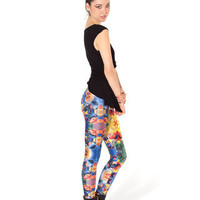Psychedelic Sesame Leggings (Made to Order) | Black Milk Clothing