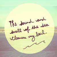 Monday Quote: The Sea Cleanses My Soul - Free People Blog