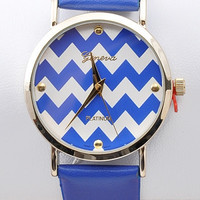 Fancy Faced Chevron Watch