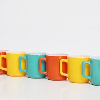Collection of Petite Hazel Atlas Mugs - Children's Mugs