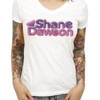 Shane Dawson Old School V-Neck Girls T-Shirt Plus Size