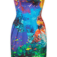 STYLEBOP.com | Coral Reef Strapless Puff Dress by MARY KATRANTZOU | the latest trends from the capitals of the world