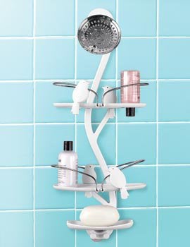 Bird Bath Shower Caddy, Umbra Boomba Shower Organizer | Solutions