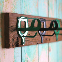 Horse hook rack by bluebirdheaven on Etsy