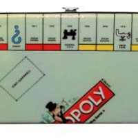 Monopoly Board Game Wallet