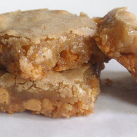 Butterscotch Blondies  by BakeAllTheThings on Etsy