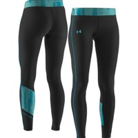 Under Armour Women's Print Blocked ColdGear Tights - Dick's Sporting Goods