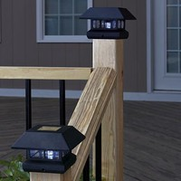 Set/2 Solar Post Lights @ Fresh Finds