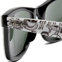 Ray-Ban RB2140 Original Wayfarer Sunglasses-Comics