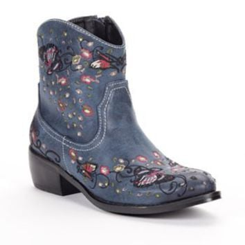 2 Lips Too Too Lasso Western Booties - Women