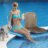 Folding Poolside Seat at Brookstone—Buy Now!