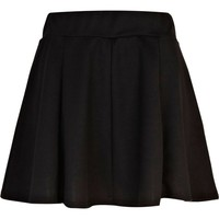 Black full skater skirt - skater skirts - skirts - women