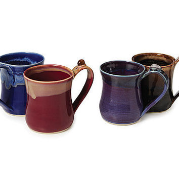 HEALING STONE MUGS | ceramic cups, quartz | UncommonGoods