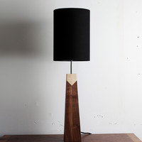 Allied Maker - Walnut-Maple Lamp