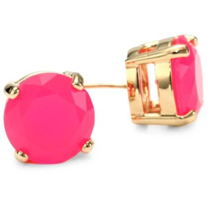 Kate Spade New York Gumdrops Pink Stud Earrings - designer shoes, handbags, jewelry, watches, and fashion accessories | endless.com