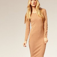 Whistles | Whistles Body-Conscious Seamed Dress at ASOS