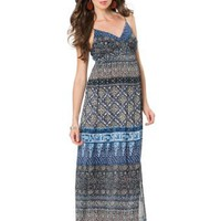 A Pea in the Pod: Eight Sixty Sleeveless Smocked Waist Maternity Maxi Dress
