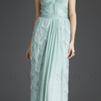 Mignon Fall 2013- Seamist Lace Gown - Unique Vintage - Prom dresses, retro dresses, retro swimsuits.