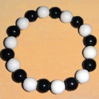 Fruits Basket Kyo Sohma Cosplay Bracelet B&W