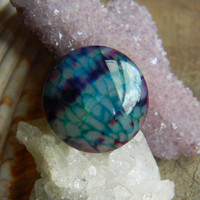Gorgeous Dragon Vein Agate Cabochon